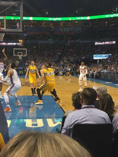 Chesapeake Energy Arena, section: 120, row: BB, seat: 17