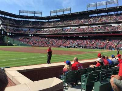 Globe Life Park in Arlington, section: 15, row: 2, seat: 14