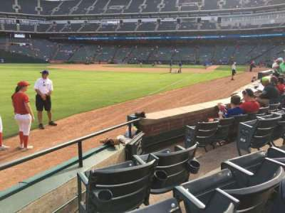 Globe Life Park in Arlington, section: 12, row: 4, seat: 8