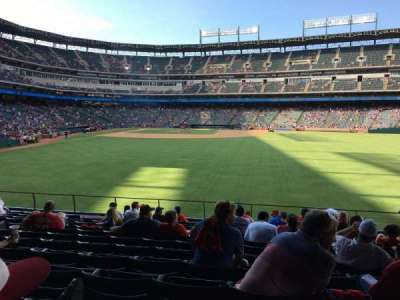 Globe Life Park in Arlington, section: 47, row: 13, seat: 10