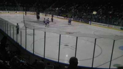 Germain Arena, section: 108, row: 10, seat: 5