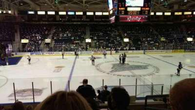 Germain Arena, section: 112, row: 12, seat: 3
