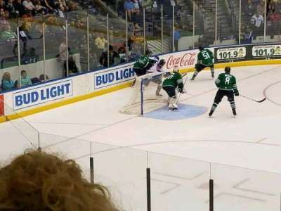 Germain Arena, section: 112, row: 13, seat: 9