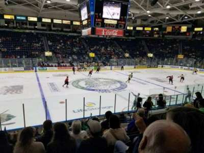 Germain Arena, section: 112, row: 12, seat: 10