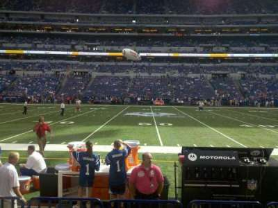 Lucas Oil Stadium, section: 140, row: 4, seat: 15