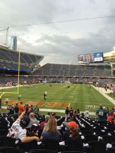 Soldier Field, section: 121, row: 19, seat: 10