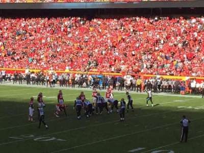 Arrowhead Stadium, section: 115, row: 24, seat: 1