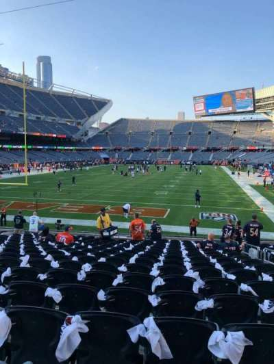Soldier Field section 121