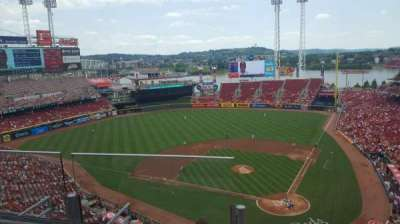 Great American Ball Park section 521