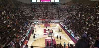 Cassell Coliseum, section: 118, row: Y, seat: 7