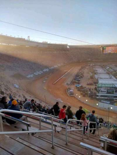 Bristol Motor Speedway, section: waltrip u, row: 52, seat: 18