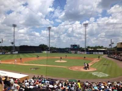 Joker Marchant Stadium, section: 208, row: K, seat: 12