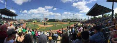 McKechnie Field, section: IBX2, row: 10, seat: 9