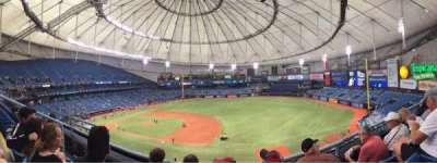 Tropicana Field, section: 316, row: C, seat: 6