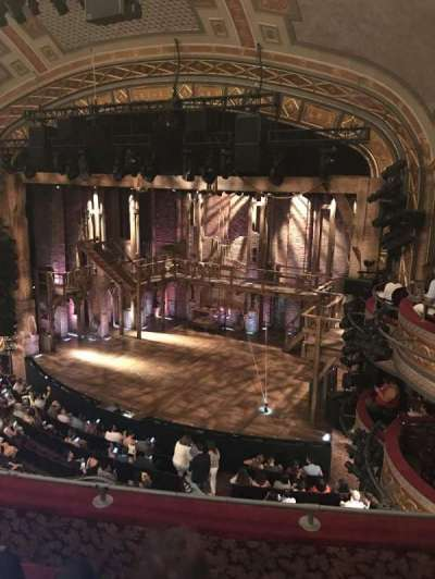 Richard Rodgers Theatre, section: Front Mezz, row: D, seat: 22
