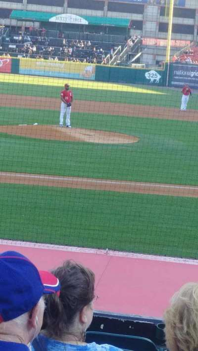 Coca-Cola Field, section: 111, row: J, seat: 5