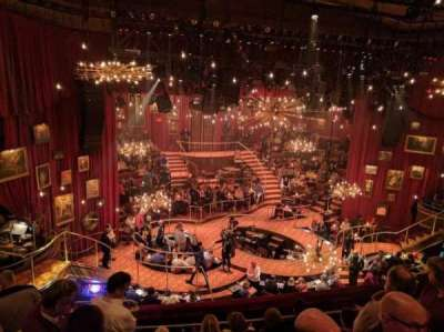 Imperial Theatre section Rear Mezzanine