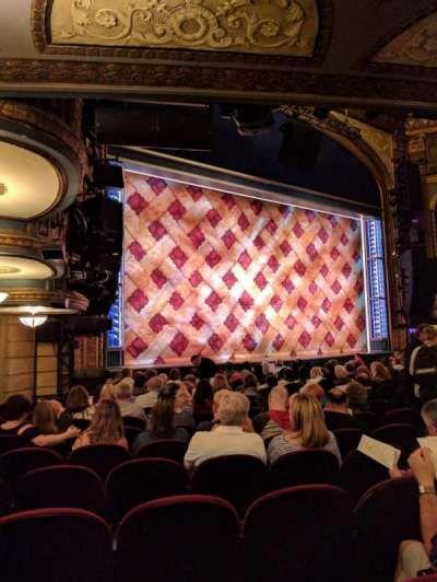 Brooks Atkinson Theatre, section: ORCH, row: N, seat: 23