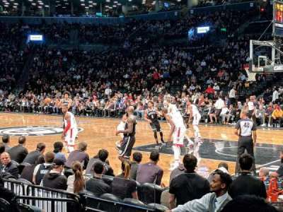 Barclays Center, section: 4, row: 5, seat: 1
