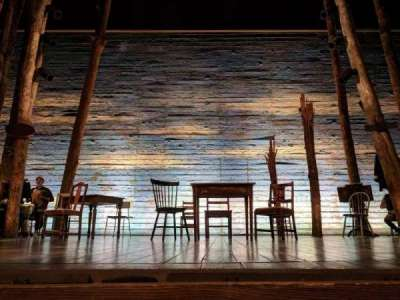 Gerald Schoenfeld Theatre, section: ORCHC, row: AA, seat: 108