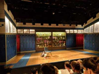 Shiva Theater at The Public Theater, row: D, seat: 14