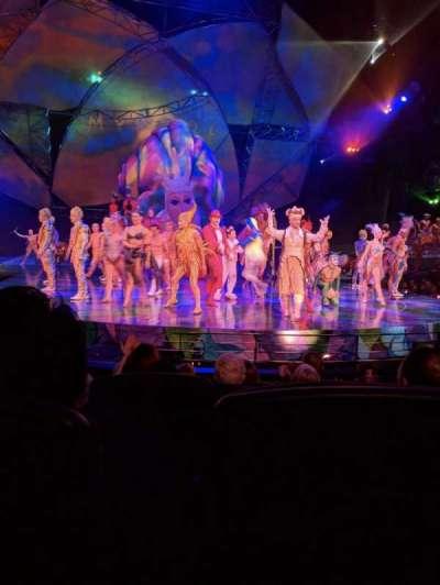 Mystère Theatre at Treasure Island, section: 103, row: E, seat: 10
