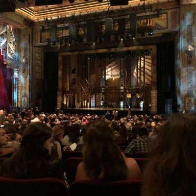 Hollywood Pantages Theatre section ORCHRC