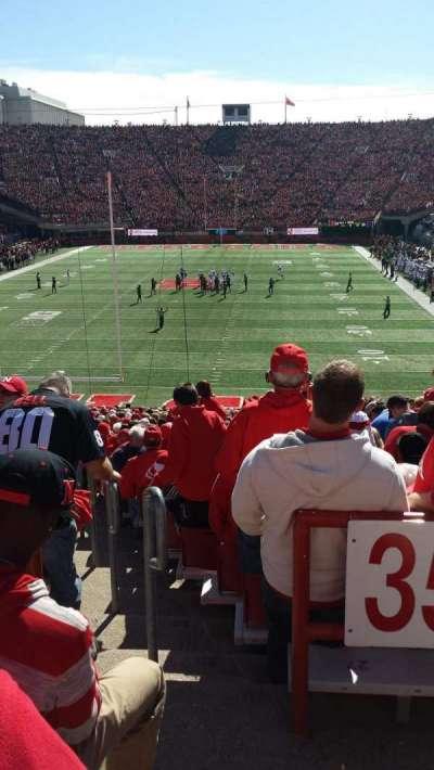 Memorial Stadium section 36-A