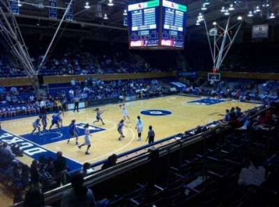 Cameron Indoor Stadium, section: 13, row: E