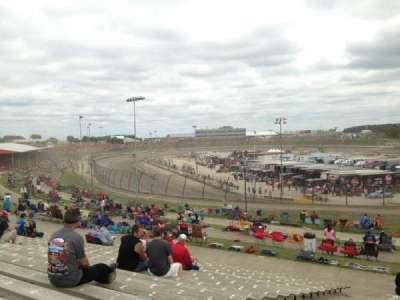 Eldora Speedway, section: SF, row: 21, seat: 14