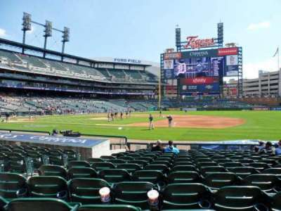 Comerica Park section 119