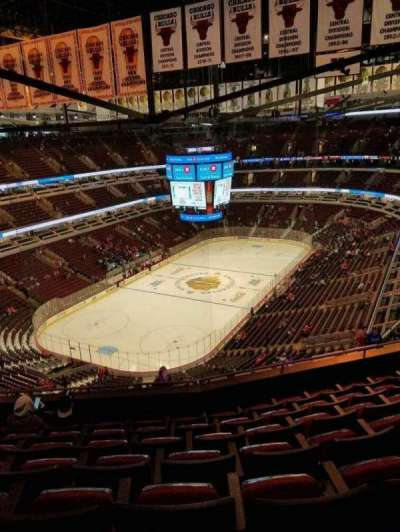 United Center, section: 323, row: 14, seat: 13