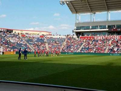Toyota Park, section: 108, row: 1, seat: 20