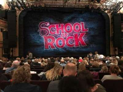 Winter Garden Theatre, section: Orch C, row: P, seat: 114