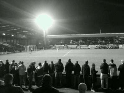 Gigg Lane, section: south, row: C
