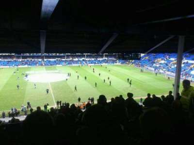 Goodison Park, section: MS2, row: LL, seat: 92