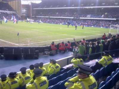 Ibrox Park, section: Govan West