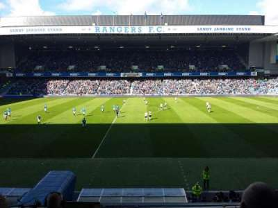 Ibrox Park, section: Main Stand Front, row: C