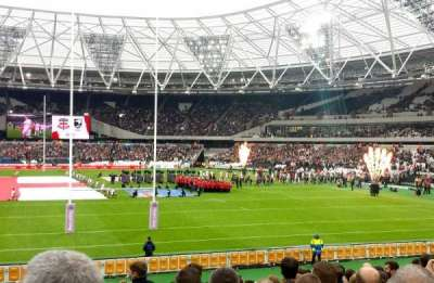 London Stadium section 148