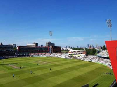 Old Trafford Cricket Ground section Upper Tier