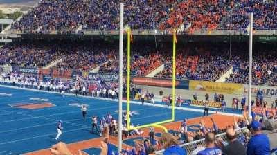 Albertsons Stadium, section: 135, row: C, seat: 10