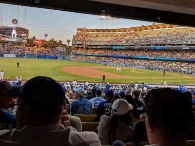 Dodger Stadium section 31FD