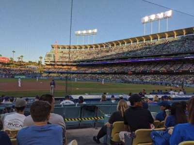 Dodger Stadium section 27FD