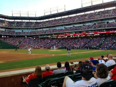 Globe Life Park in Arlington section 16