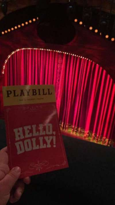 Shubert Theatre, section: Balcony, row: A, seat: 12