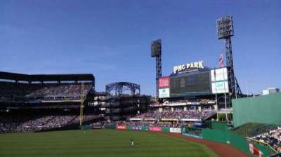 PNC Park, section: 143, row: c, seat: 3