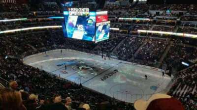 Pepsi Center section 374