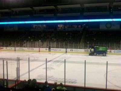 Huntington Center, section: 105, row: k, seat: 15
