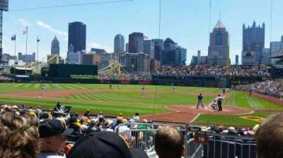 PNC Park, section: 119, row: C, seat: 14