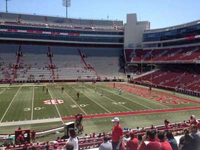 Razorback Stadium section 103